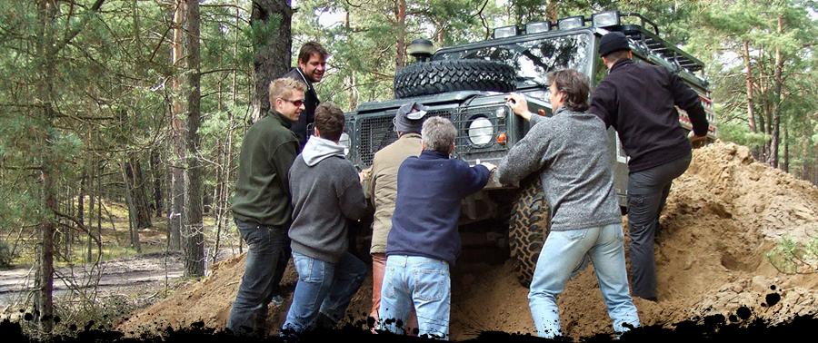 TC-Offroad-Trekking, Offroad Fahrtraining, Geländewagen, 4x4 Service