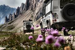 TC Offroad Trekking, Grosse Alpenüberquerung, Alpen, Offroad Adventure, geführte Reisen, Offroadgelände, Offroad Geländewagen, Abenteuerreisen