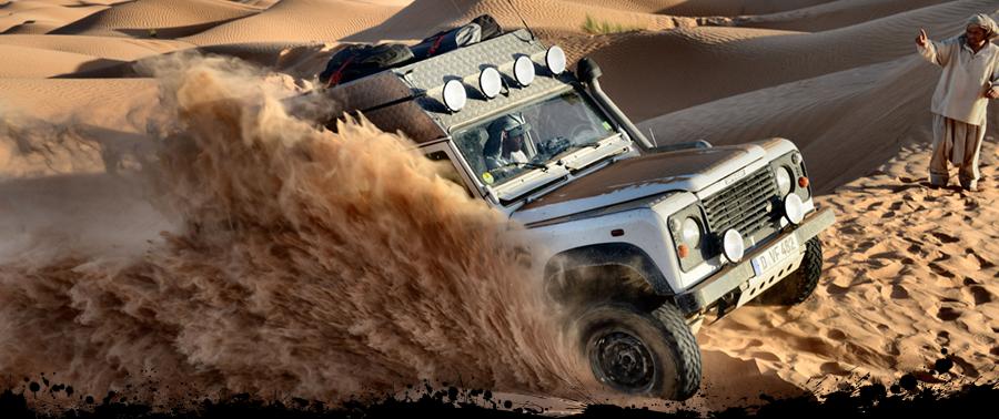 TC-Offroadä-Trekking, Sahara, Im Land des Maghreb, Trans Tunesia Tour, 4x4 Offroad