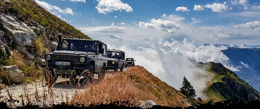 TC-Offroad-Trekking, Offroad Reise, Alpenüberquerung, Alpen Offroad, Panorama Alpen Offroad, 4x4 Reise, 4x4 Abenteuer Alpen