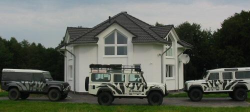 TC-Fahrzeuge im Zebra-Look
