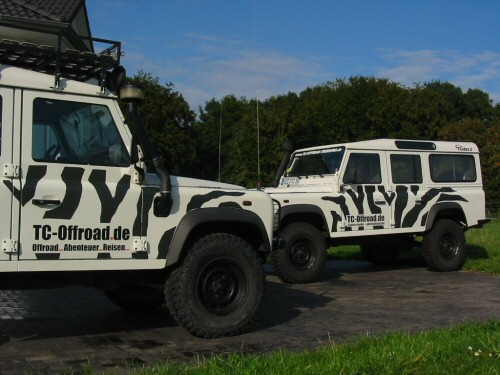 TC-Offroad Fahrzeuge im Zebra-Look